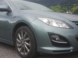 Mazda 6 Kombi 2.0 DI FL 8-fach bereift