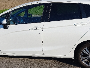 Honda Jazz Elegance Automat in Pearlweiss